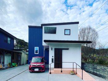 愛媛県西予市野村町の自然派シンプル住宅ウッドボックス